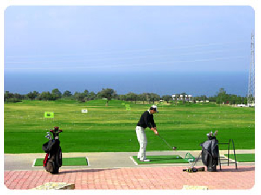 Korineum Golf Course in Esentepe Cyprus